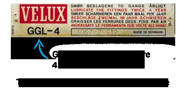 Identification plaque VKI